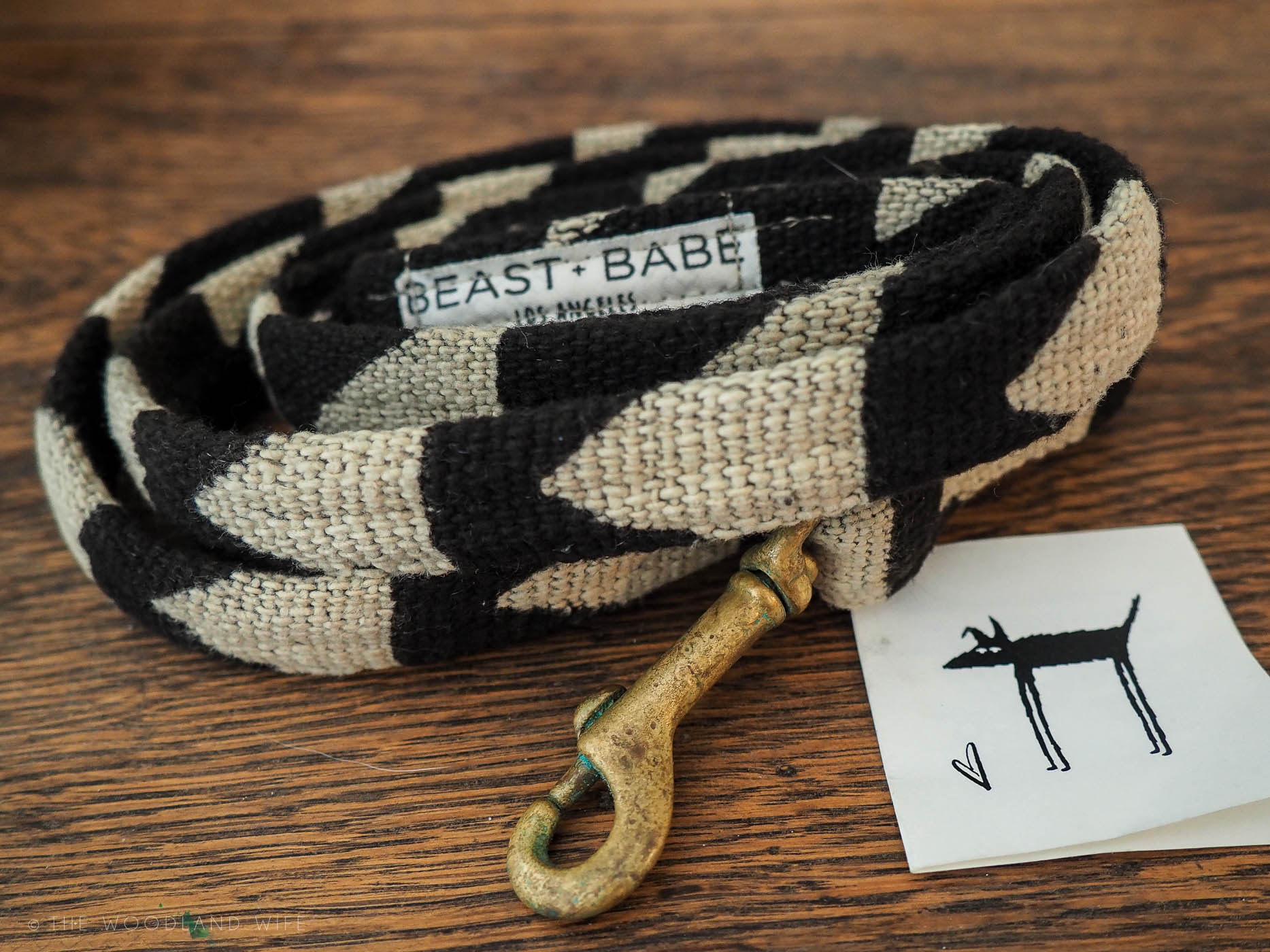 The Woodland Wife - New Arrival, Bob + Bear eco dog lead
