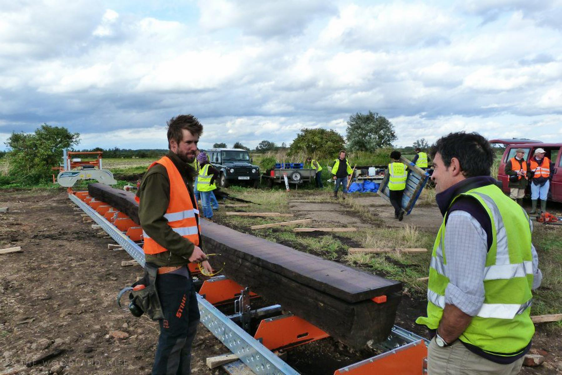 The Woodland Wife 2021 - The Fenland Black Oak Project - A Table for the Nation - Jubilee Oak - Bog Oak